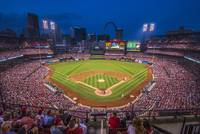 St. Louis Cardinals Busch Stadium Night 2
