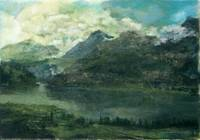 Gebirge_50x35_oil on canvas