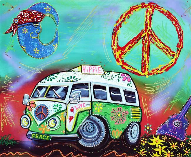 stunning hippie artwork for sale on fine art prints