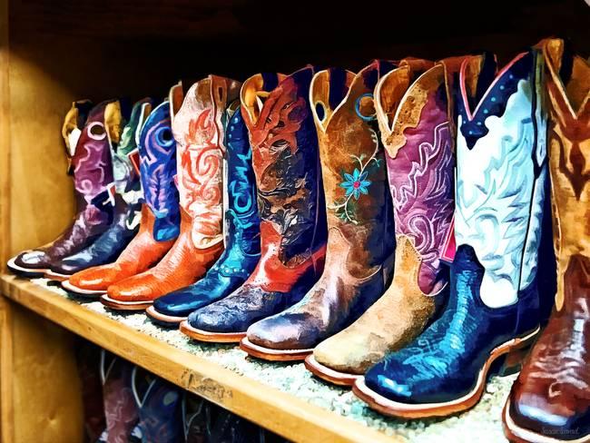 stunning cowboy boots artwork for sale on fine art prints rh imagekind com cowboy boot art cowboy boots at amazon