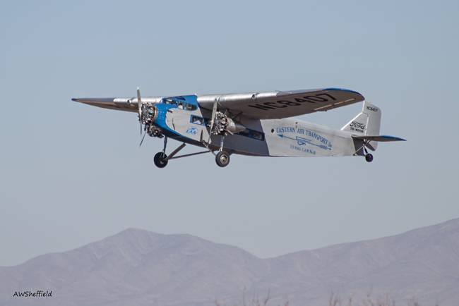 Ford Tri-Motor Taking Off