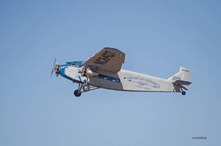 Ford Tri-Motor Flying By