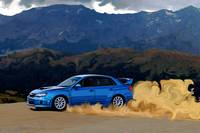Subaru WRX STi Drifting in the Dirt