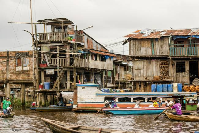 khlong and shanty town, Thailand, Bangkok Stock Photo, Royalty ...