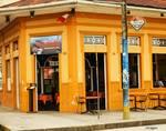 Fitzcarraldo Cafe in Iquitos by Allen Sheffield