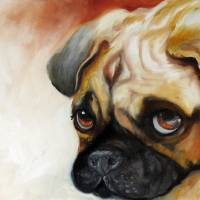 CUTIE PIE PUG by Marcia Baldwin