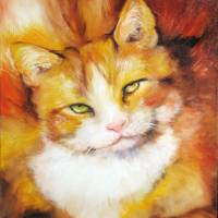 SWEET FAT CAT by Marcia Baldwin