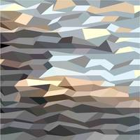 Brown Grey Abstract Low Polygon Background