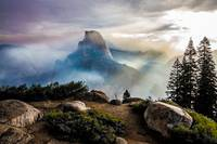 Half Dome Haze - Limited Print