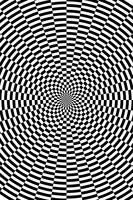 Concentric Circles Shifted 9 Degrees