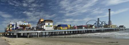 Pleasure Pier Panorama