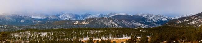 Colorado Rocky Mountain National Park Panorama
