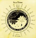 Sea Time - Elissa Chart by Allen Sheffield