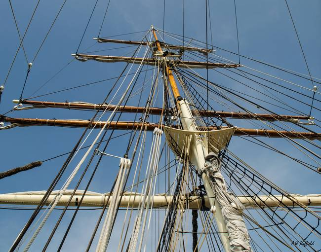 Tall Ship Elissa Rigging 1
