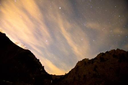 A Night Up The Canyon
