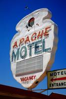 Route 66 - Apache Motel in Tucumcari