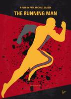No425 My Running man minimal movie poster