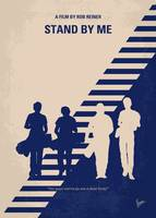No429 My Stand by me minimal movie poster