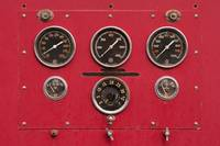 Fire Truck Gauges