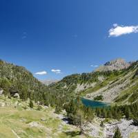 Neouvielle nature reserve in the summer Pyrenees Art Prints & Posters by Oleg Mitiukhin