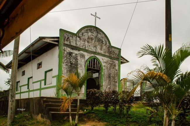 Tiny Church in Peru