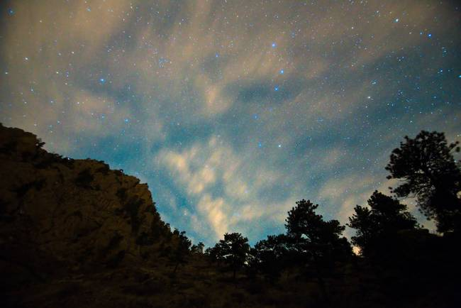 Colorado Canyon Star Gazing