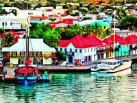 Antigua - St. Johns Harbor Early Morning