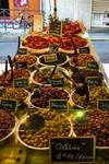 Olives at Antibes Market by Allen Sheffield