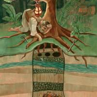 Oak Island Treasure Art Prints & Posters by Erin Bennett Banks