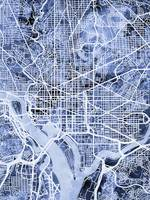 Washington DC Street Map