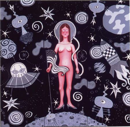 Naked in Space