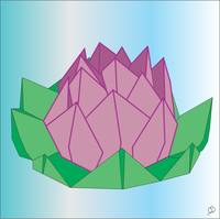 Blossoming Floating Lotus Origami