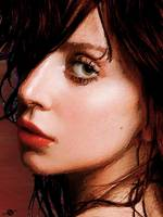 Lady Gaga Close Up