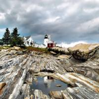 Rocks of Pemaquid by Donnie Shackleford