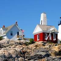 Pemaquid on the Rocks by Donnie Shackleford