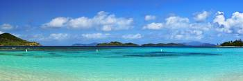Caribbean Beach Panorama
