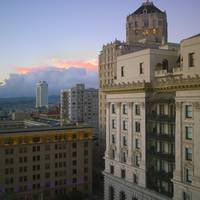 San Francisco Fairmont view, 2015