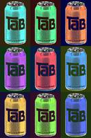 Tab Ode To Andy Warhol Black