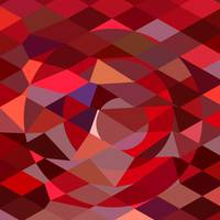 Rising Sun Abstract Low Polygon Background