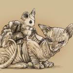 The Last Mouse and Cat by Derek Chatwood