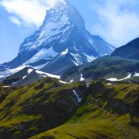 Switzerland's Matterhorn by Roger Dullinger