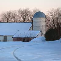 Winter Farm by Roger Dullinger