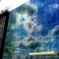 Sky Reflected Art Prints & Posters by Danielle Dandridge