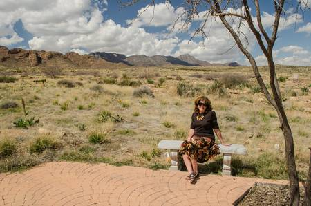 El Paso Archeological Museum - Christine at Ease