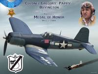 Medal of Honor Pappy Boyington