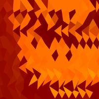 Red Lava Abstract Low Polygon Background