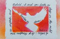 Matthew 10 16 white Dove, orange,yellow, pink (enh