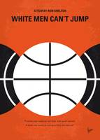 No436 My White Men Cant Jump minimal movie poster