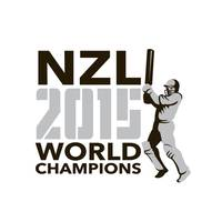 New Zealand NZ Cricket 2015 World Champions