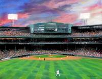 Twilight at Fenway Park